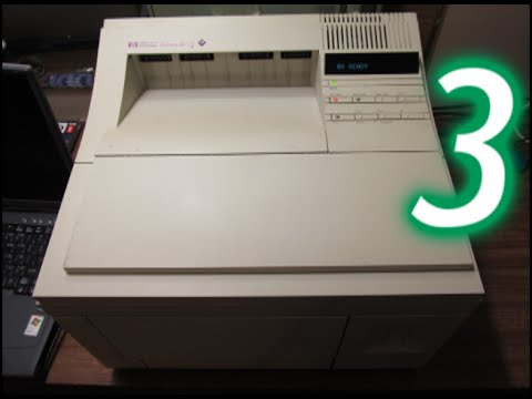 HP LaserJet 4/4M printer, Part 3: Printer overview