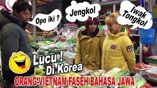 Video Di KOREA Orang Vietnam Faseh Bahasa Jawa Lucu Bikin Ngakak MP3, 3GP, MP4, WEBM, AVI, FLV Maret 2019