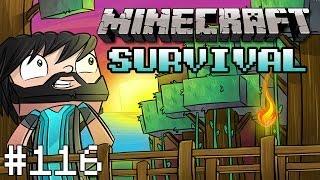 Minecraft : Survival - Part 116 - The Yellow Submarine's Maiden Voyage!