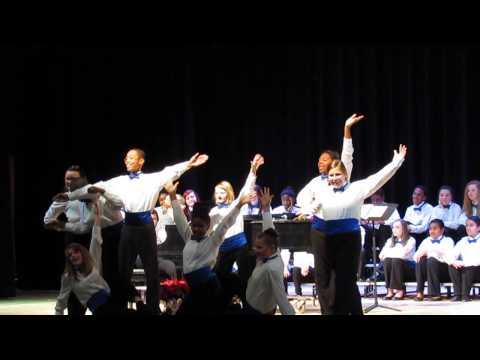 Spratley Gifted Center 7th & 8th Grade Chorus Christmas Concert 2013 Pt 2