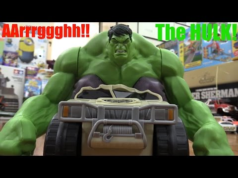 RC TOYS: Marvel Avengers Remote Control HULK Smash Unboxing and Playtime Fun!