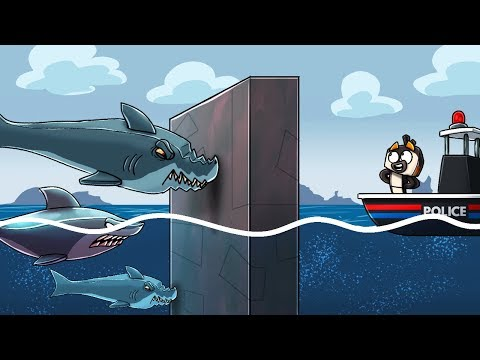 Jaws Movie 3 - HOW TO STOP ALL SHARK ATTACKS! (Minecraft Roleplay)
