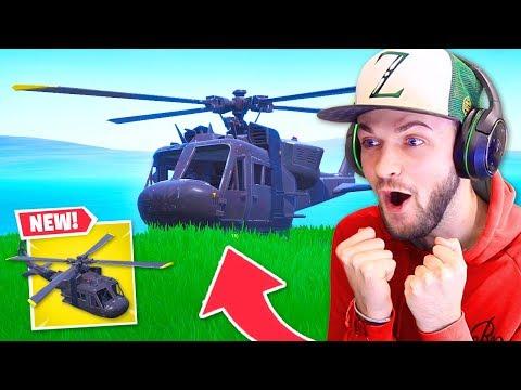 *NEW* Fortnite SECRET Helicopter FOUND! - Thời lượng: 11 phút.