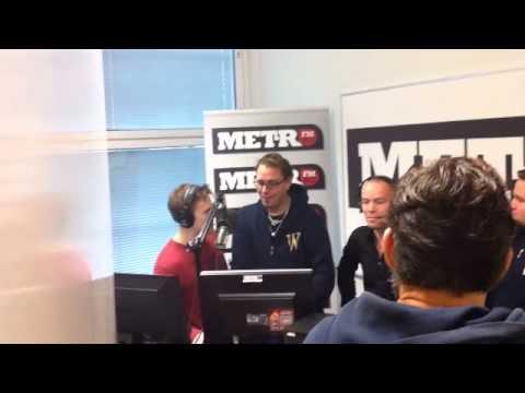 Juha lähtee studiolta tekijä: MetroFMHelsinki