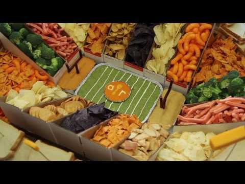 Be A Hero Today! Make A Snack Stadium