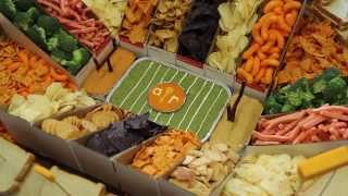 How to Make a Snack Stadium for Super Bo