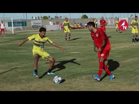 Jogo-treino contra o Sindicato dos Atletas