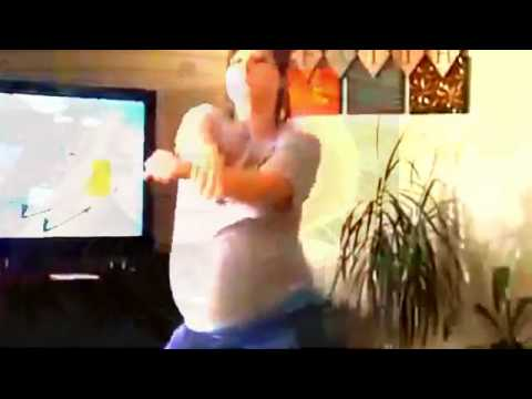 Gangnam Style, 9 months pregnant | Fat Belly 2014