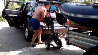 тележка почти моторчик лодочный с запорожья