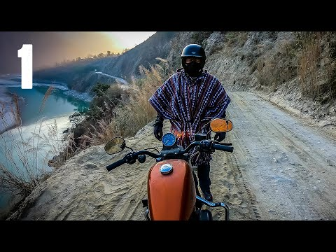 Dangerous Harley Davidson Ride - India / Nepal / Mt Everest in 4K