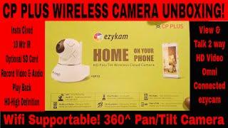 CP PLUS Wifi Camera! CP PLUS Wireless Camera! Ezykam CP PLUS Wireless Wifi CCTV Camera! Unboxing for CP PLUS WIreless Camera! CP PLUS Wifi Camera Unboxing!cp plus hd camera, cp plus wifi camera. how to look cp plus hdcvi camera.