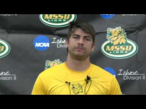Landon Zerkel Press Conference Week 1