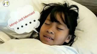 Mimpi jadi Mermaid, Anak Kecil Berubah Jadi Putri Duyung