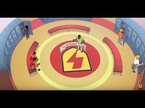 Supa Strikas | Season 2 Episode 15 - Training Trap | Kids Cartoon | Soccer Cartoons for Kids
