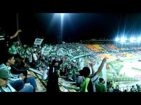 Tu eres mi equipo del alma - Previa vs envigado - Los del Sur - Atlético Nacional