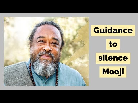 Mooji Guided Meditation: Guidance to Silence