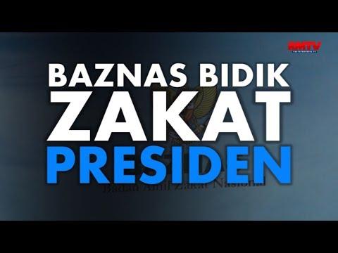 Baznas Bidik Zakat Presiden