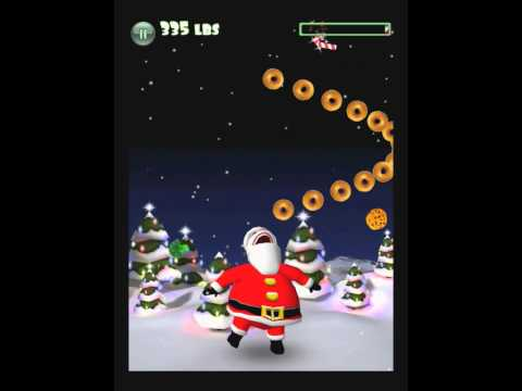 Video of Hungry Santa