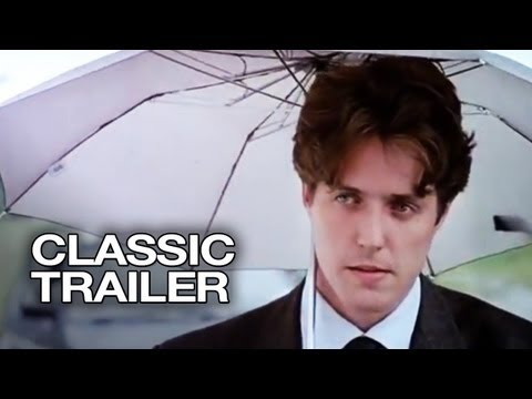 Four Weddings and a Funeral Official Trailer #1 - Hugh Grant Movie (1994)