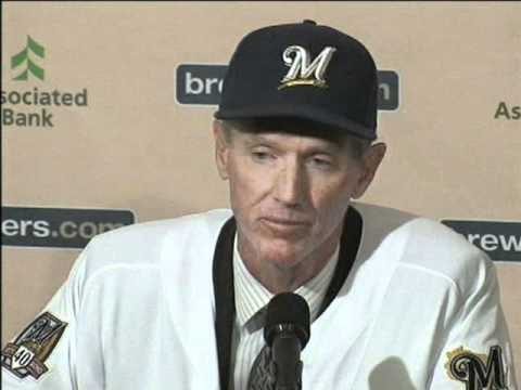 Roenicke - Former Los Angeles Angels Bench Coach Ron Roenicke takes over the helm of the Milwaukee Brewers as the new manager. Dennis Krause recaps the press conference...