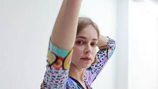 lurex big flower midi dress ( EM-020 ) youtube video
