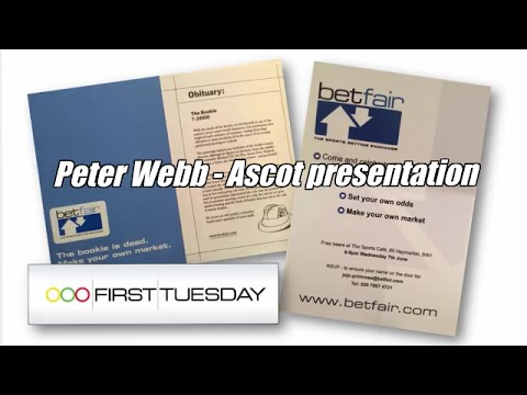 Peter Webb – Betdaq Presentation At Ascot