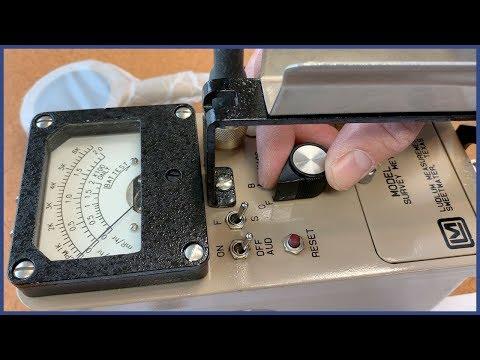Ludlum Model 3 Operational Check & Individual Survey