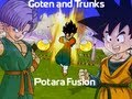 Goten and Kid Trunks Potara Fusion - DBZ Budokai 3 [MOD]