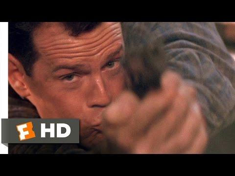 Die Hard 2 (1990) - Skywalk Shootout Scene (1/5) | Movieclips
