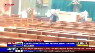 Video Suasana Saat Suliono Serang Gereja Santa Lidwina MP3, 3GP, MP4, WEBM, AVI, FLV Mei 2018