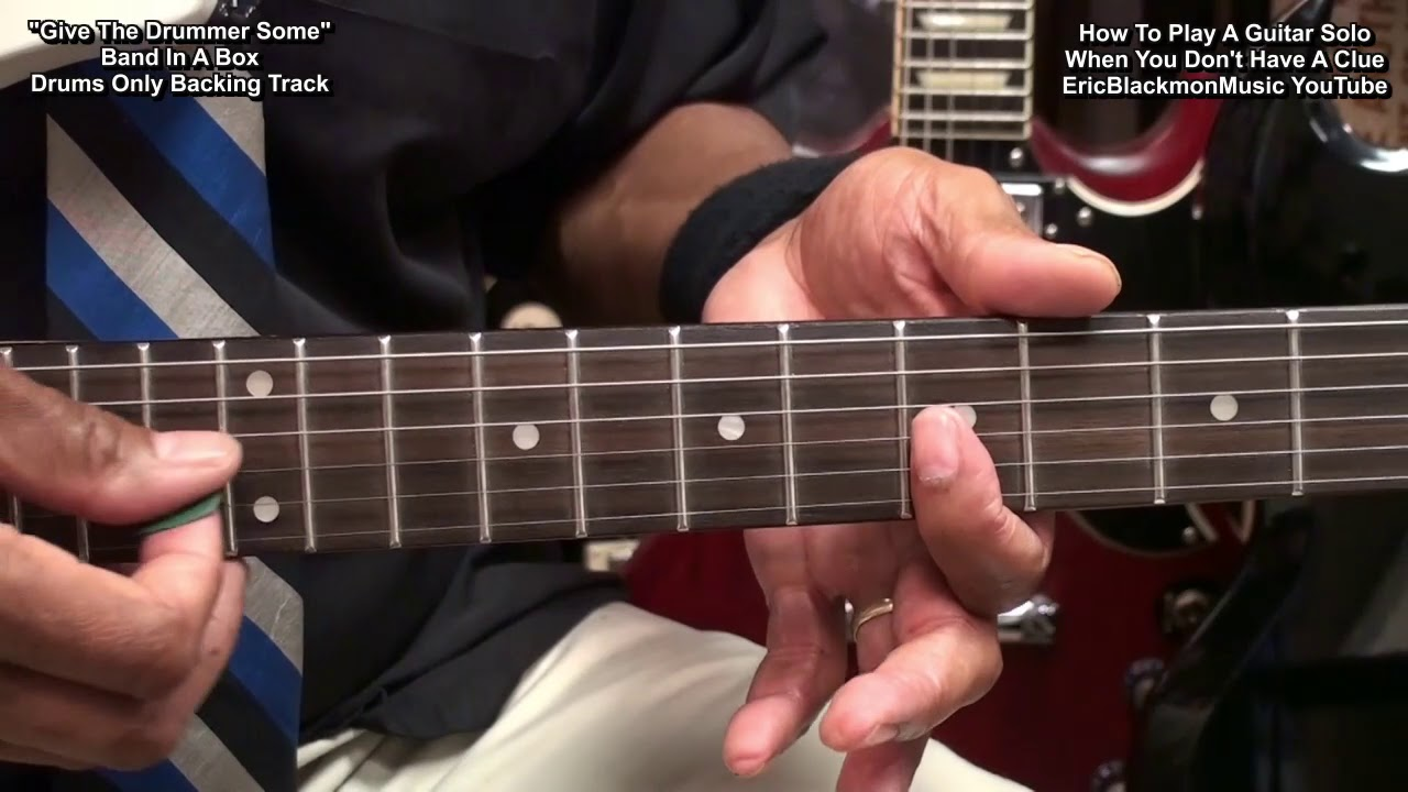 How To Play A Solo On Electric Guitar When You Don't Have A Clue