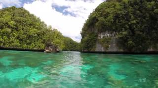 Koror Island Palau  city images : Rock Islands Palau high speed boat ride