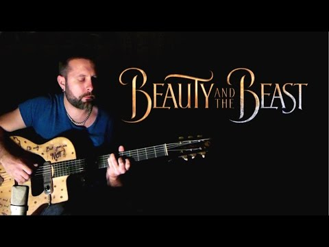 Beauty and the Beast - Dario Pinelli - Acoustic Guitar (Music Video)