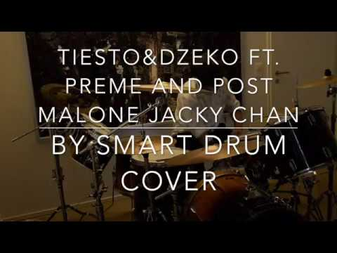 Post Malone jackie chan drum cover