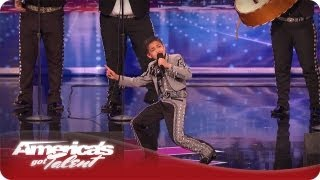 Mariachi Kid Brings Down The House With His Voice - AGT Season 7 Sebastian El Charro Audition