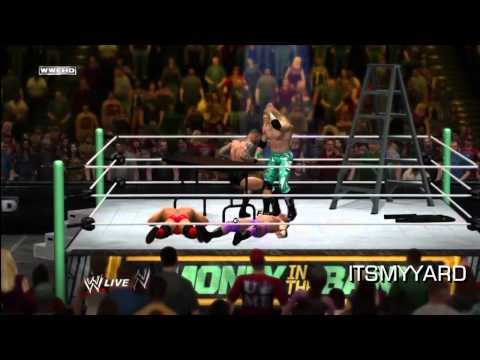 WWE 12 - Best TLC Match EVER!  With COMMENTARY!