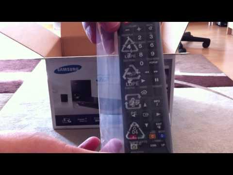 Samsung HT-H4200R 2.1 3D-BlueRay-Heimkinosystem - Unboxing