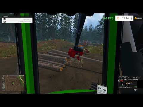 Wood Harvester Tree Info v1.0