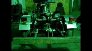 4) механизм подъема навески