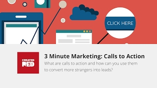 Are you looking for help with improving the number of enquiries from your website, calls to action might be your new best friend. It's the subject of our latest video in our 3 minute marketing series: