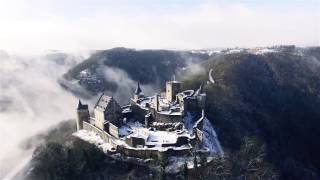 Location : Château de Bourscheid - Luxembourg Images from 10 January 2017 after a light snowfall. MUSIC: M83 - Outro *All...
