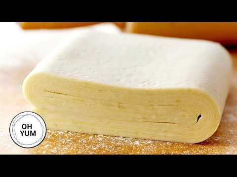 How To Make Your Own Puff Pastry Dough! | Oh Yum With Anna Olson