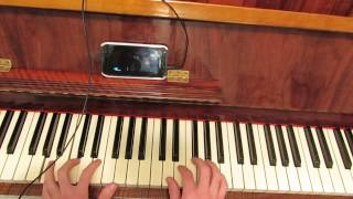 Cœur de pirate - Adieu - piano cover BY Erez Shmiel