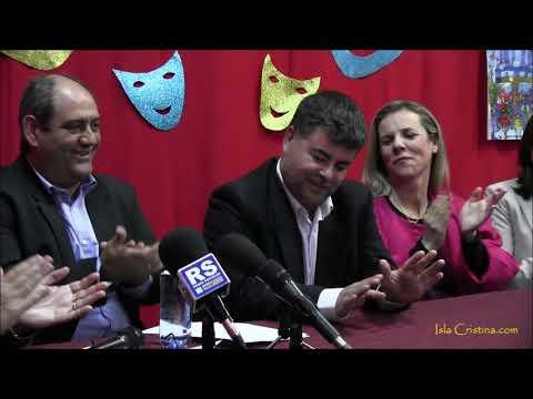 Presentación Pregonero del Carnaval de Isla Cristina Antonio Cárdenas Rojas