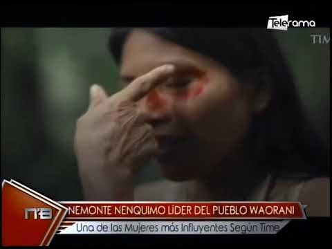 Nemonte Nenquimo Líder del pueblo Waorani una de las mujeres más influyentes según Time