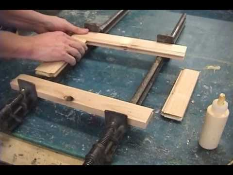 Frame - This is how I like to make picture frames because it uses the same method that is used to make cabinets.