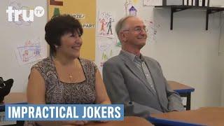 Video Impractical Jokers - Mom, Dad, The Birds and the Bees (Punishment) | truTV MP3, 3GP, MP4, WEBM, AVI, FLV Juli 2018