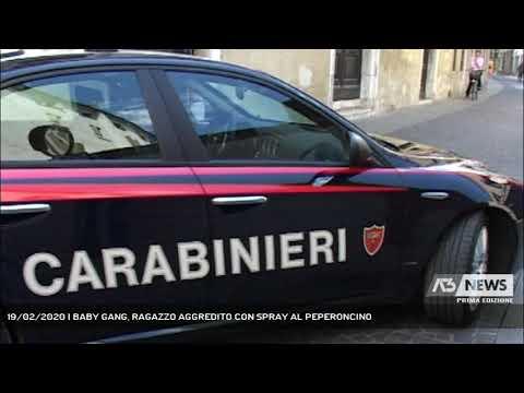 19/02/2020   BABY GANG, RAGAZZO AGGREDITO CON SPRAY AL PEPERONCINO