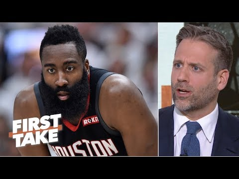 James Harden 'choked under pressure' in the Rockets' Game 1 loss - Max Kellerman | First Take