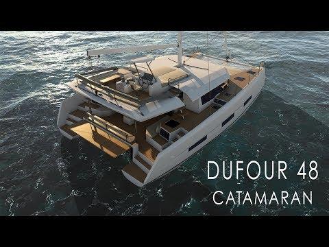 Video Dufour Catamaran 48
